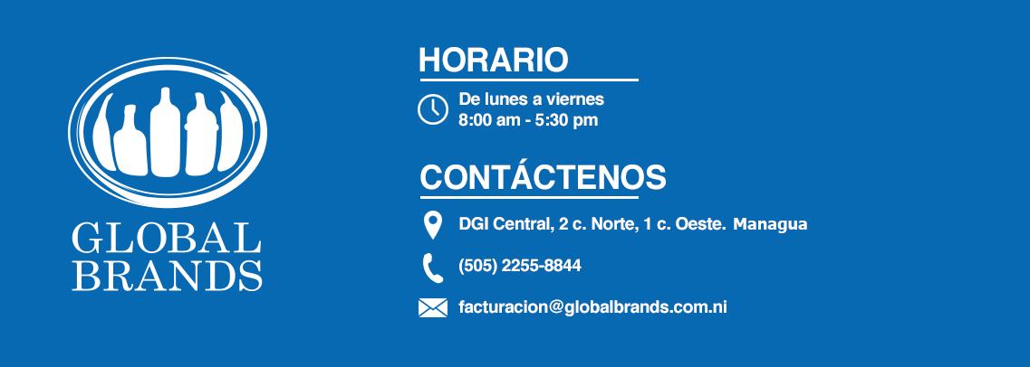 Horarios Global Brands Nicaragua